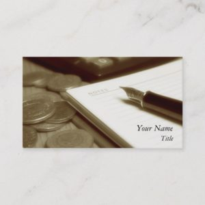 Accounting 3 Business Card