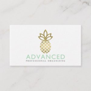 Advanced Professional Organizing Custom Business Card