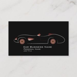 Automotive Car Service Business Card