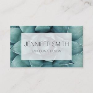 Beautiful Succulent | Business Card