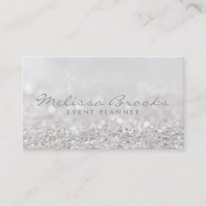 Business Card | Glitter Design