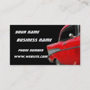 Classic Chevy Business Card