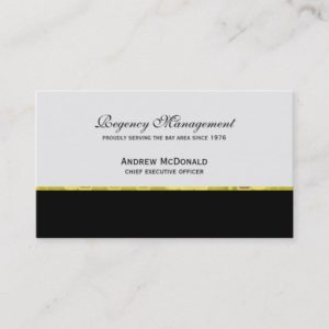 Corporate Gold Business Card