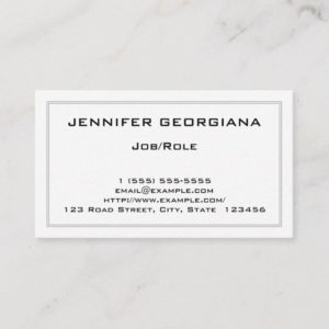 Dapper and Basic Professional Business Card