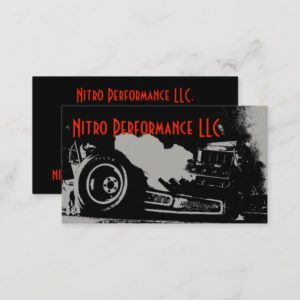 Dragster Business Card