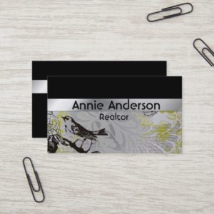 Elegant Modern Minimalist Simple Professional Business Card