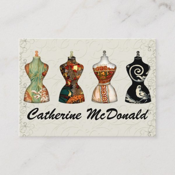 Fashion / Seamstress Card - SRF
