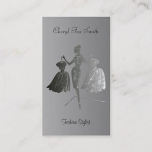 Fashion Stylist Business Card