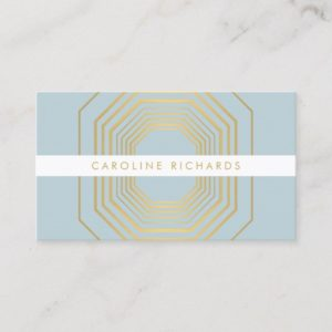 Glam Deco Jewelry Design Fashion Boutique No. 11 Business Card