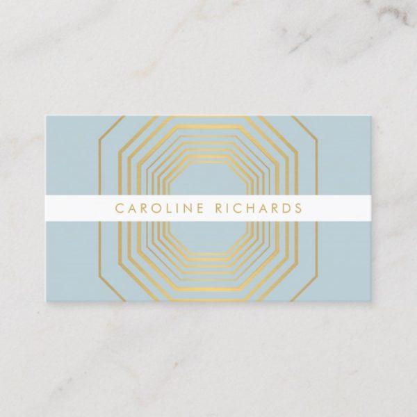 Glam Deco Jewelry Design Fashion Boutique No. 11 Business Card