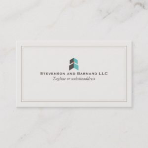 Growth Arrow Professional Logo Business Card