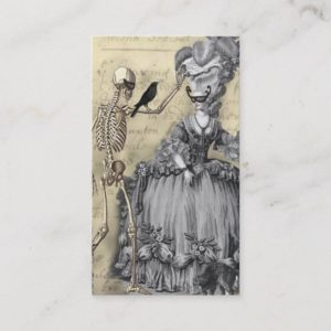 Halloween Masquerade Ball Business Card