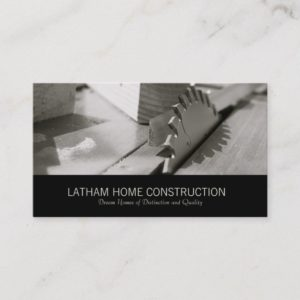 Home Construction Or Builder Business Card Design
