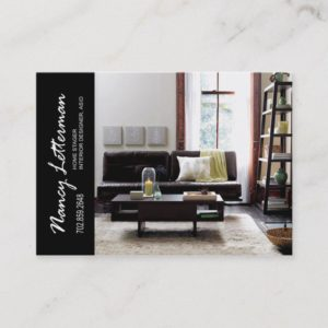 Home Stager Interior Designer Business Card
