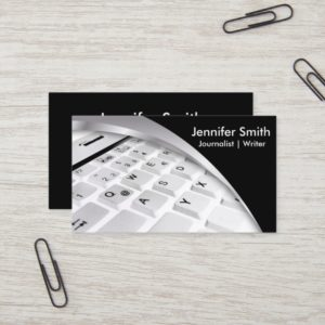 Journalist | Writer | Blogger |Reporter Business Card