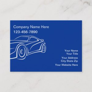 Large Automotive Business Cards