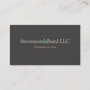 Lawyers Business Card