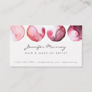 Make-Up Artist / Interior Designer Business Card