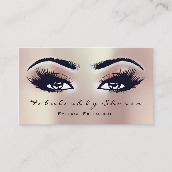 Makeup Artist Eyebrow Lashes Extension