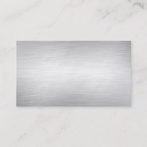 Metal Background Business Cards