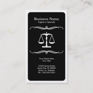 mod law business card