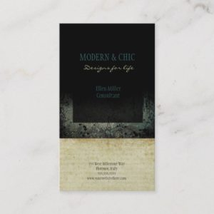 Modern and Chic Colorful Designer Business Cards