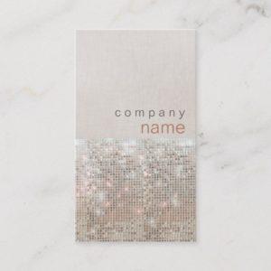 Modern and Hip Beauty and Fashion Salon Business Card