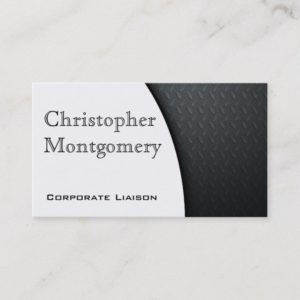 Modern Carbon Fiber Premium Business Cards