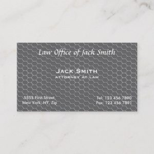 MODERN Honeycomb Business Card