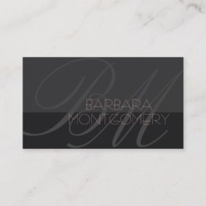 Modern stylist fashion designer Business Card