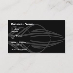 Pinstriper Business Card