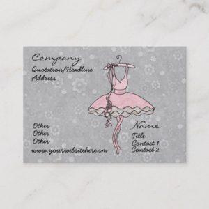 'Prima Ballerina' Profile Card