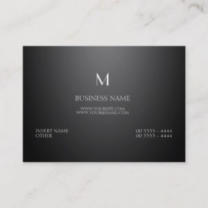 Professional Parisian Elegant Business Card