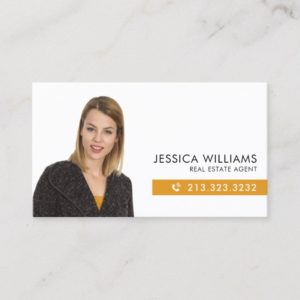 Professional Photo Real Estate Business Card
