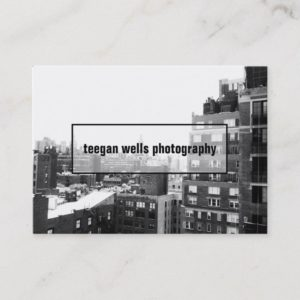 Professional Photography  Photographer Photo Card