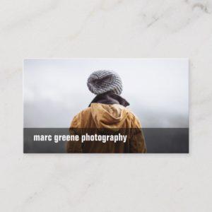 Simple Freelance Photographer Photography Photo Business Card