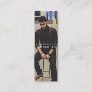 streetstylesoftoronto mini business card