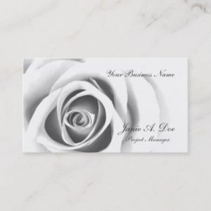 Subtle Rose Business Card
