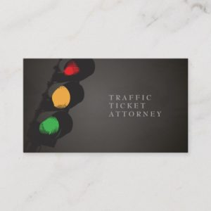 Traffic Ticket Attorney ı Business Card