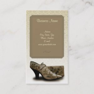 Vintage Fashion Business Card